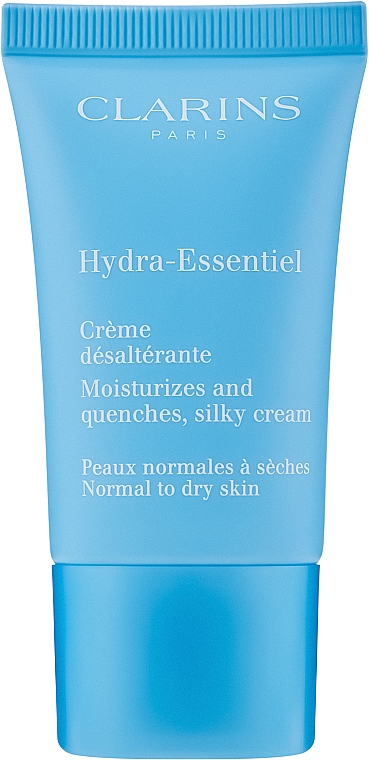 Crème à l'extrait de kalanchoé biologique pour visage - Clarins Hydra-Essentiel Normal to Dry Skin Cream