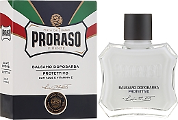 Parfums et Produits cosmétiques Baume après-rasage à l'aloe vera et vitamine E - Proraso Blue Line After Shave Balm Super Formula