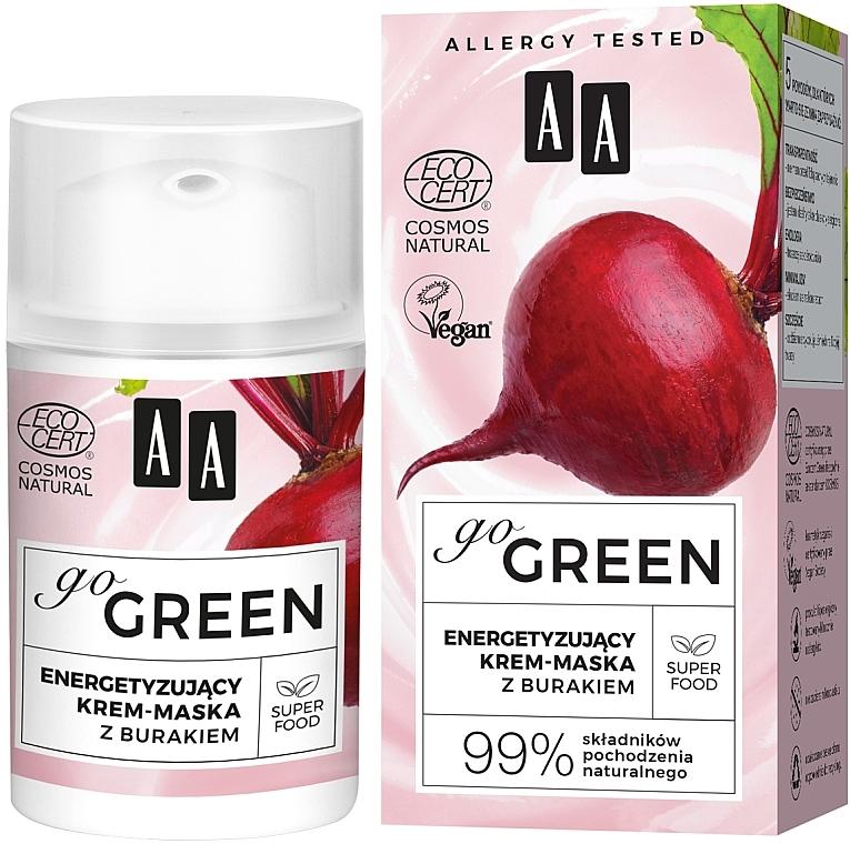 Crème-masque à l'extrait de betterave pour visage - AA Go Green — Photo N1