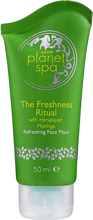 Masque au moringa himalayen pour visage - Avon Planet Spa Refreshing Face Mask