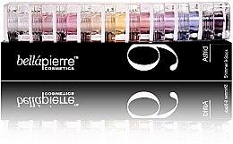Parfums et Produits cosmétiques Kit de 9 poudres pailletées multi-usages - Bellapierre Cosmetics Shimmer 9 Stack Pandera