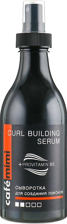 Sérum coiffant des boucles à la provitamine B5 - Cafe Mimi Curl Building Serum