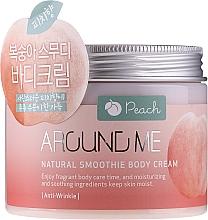 Parfums et Produits cosmétiques Crème pour corps, Pêche - Welcos Around Me Natural Body Smoothie Cream Peach