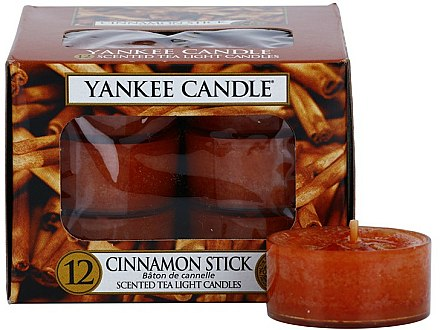 Bougies chauffe-plats parfumées Bâton de cannelle - Yankee Candle Scented Tea Light Candles Cinnamon Stick — Photo N1