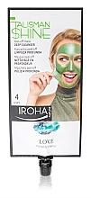 Parfums et Produits cosmétiques Masque nettoyant peel-off à l'extrait d'herbe du tigre pour visage - Iroha Nature Talisman Shine Love