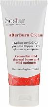 Parfums et Produits cosmétiques Crème pour brûlures thermiques et coups de soleils - Sostar After Burn Cream