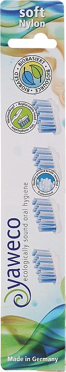 Têtes de remplacement pour brosse à dents, souples - Yaweco Toothbrush Heads Nylon Soft — Photo N2