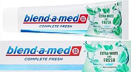 Parfums et Produits cosmétiques Dentifrice extra blanchissant et frais - Blend-a-med Complete Fresh Extra White & Fresh