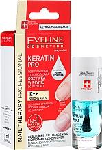 Parfums et Produits cosmétiques Soin fortifiant ongles à la kératine - Eveline Cosmetics Nail Therapy Professional Keratin Pro