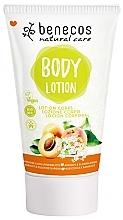 Parfums et Produits cosmétiques Lotion pour corps, Abricot et Fleur de sureau - Benecos Natural Care Apricot & Elderberry Blossom Body Lotion