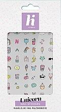 Parfums et Produits cosmétiques Autocollants pour ongles - Hi Hybrid Unicorn Nail Stickers