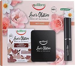 Parfums et Produits cosmétiques Coffret cadeau - Equilibra Love's Nature (powder/8.5g + brush)