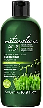 Parfums et Produits cosmétiques Gel douche à l'herbe de blé - Naturalium Energizing Shower Gel