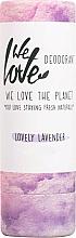 Parfums et Produits cosmétiques Déodorant stick à l'huile de noix de coco - We Love The Planet Lovely Lavender Deodorant