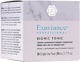 Parfums et Produits cosmétiques Lotion tonique à l'extrait de concombre - Exuviance Professional Bionic Tonic