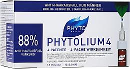 Parfums et Produits cosmétiques Traitement antichute en ampoules à l'extrait de cellules souches de pomme - Phyto Phytolium 4