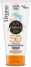 Parfums et Produits cosmétiques Émulsion solaire à l'huile de canola pour visage et corps - Lirene Sun Natura Kids Protective Emulsion SPF50+