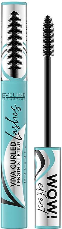 Mascara allongeant - Eveline Cosmetics Viva Curled Lashes Mascara Length And Lifting