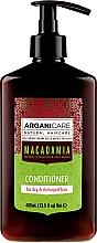 Parfums et Produits cosmétiques Après-shampoing à l'huile de macadamia bio - Arganicare Macadamia Conditioner