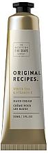 Parfums et Produits cosmétiques Crème à la vitamine E pour mains - Scottish Fine Soaps Original Recipes White Tea & Vitamin E Hand Cream