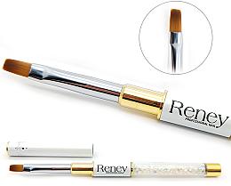 Parfums et Produits cosmétiques Pinceau pour nail art, plat - Reney Cosmetics Pro Flat AN04