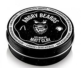 Parfums et Produits cosmétiques Argile coiffante - Angry Beards Lee Man Go Matt Clay