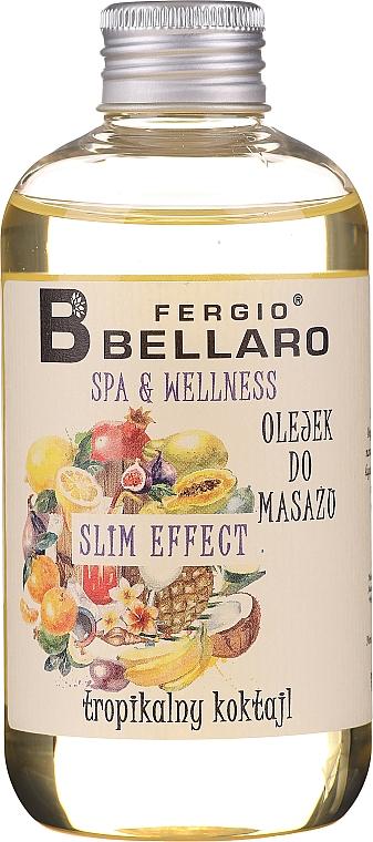 Huile de massage amincissante aux fruits pour corps - Fergio Bellaro Massage Oil