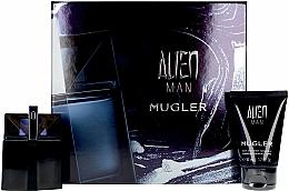 Parfums et Produits cosmétiques Mugler Alien Man Gift Set - Coffret (eau de toilette/50ml + shampooing pour cheveux et corps/50ml)