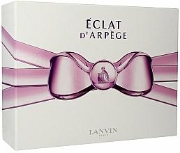 Parfums et Produits cosmétiques Lanvin Eclat D`Arpege - Coffret (eau de parfum/100ml + eau de parfum/7.5ml + lait corporel/100ml)