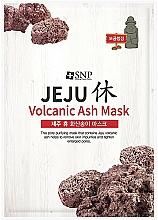 Parfums et Produits cosmétiques Masque tissu aux cendres volcaniques pour visage - SNP Jeju Rest Volcanic Ash Mask