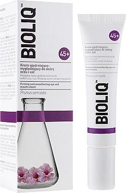 Crème raffermissante et lissante contour des yeux et des lèvres - Bioliq 45+ Firming And Smoothening Eye And Mouth Cream