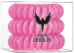 Parfums et Produits cosmétiques Élastiques à cheveux, rose - HH Simonsen Hair Cuddles Pink