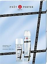 Parfums et Produits cosmétiques Coty Pret-a-Porter - Set (déodorant spray/75ml+déodorant/200ml)