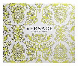 Parfums et Produits cosmétiques Versace Yellow Diamond - Coffret (eau de toilette/50ml + lotion pour corps/50ml + gel douche/50ml)