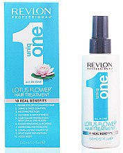 Parfums et Produits cosmétiques Traitement en spray à la fleur de lotus 10 en 1 pour cheveux - Revlon Revlon Professional Uniq One Lotus Flower Hair Treatment