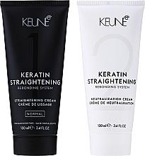 Parfums et Produits cosmétiques Traitement à la kératine pour le lissage des cheveux - Keune Keratin Straightening Rebonding System Normal
