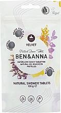 Parfums et Produits cosmétiques Gel douche naturel en pastilles - Ben&Anna Natural Velvet Body Wash Tablets