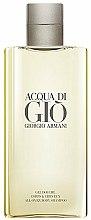 Parfums et Produits cosmétiques Giorgio Armani Acqua di Gio Pour Homme All-Over Body Shampoo - Gel douche parfumé pour corps et cheveux