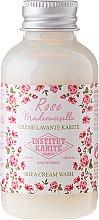 Parfums et Produits cosmétiques Crème lavante au beurre de karité, parfum rose - Institut Karite Rose Mademoiselle Shea Cream Wash (mini)