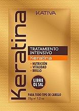 Parfums et Produits cosmétiques Masque à la kératine pour cheveux - Kativa Keratina Intensive Treatment