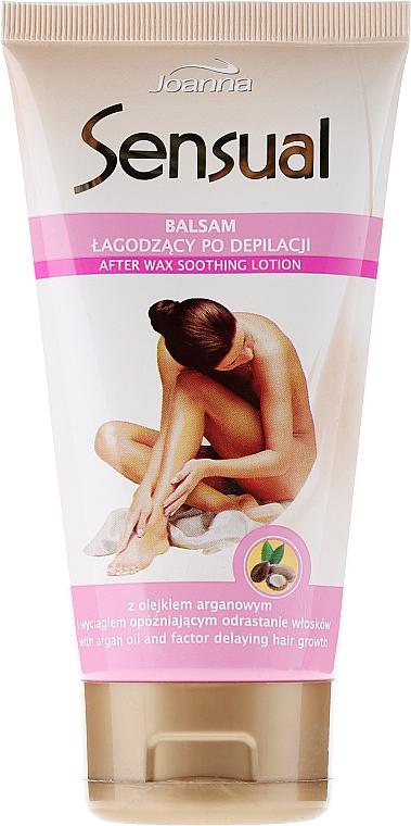 Lotion post-dépilatoire à l'huile d'argan - Joanna Sensual Balzam