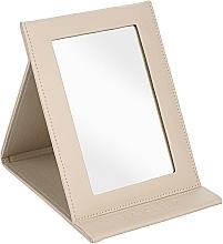 Parfums et Produits cosmétiques Miroir pilable, beige - MakeUp Tabletop Cosmetic Mirror Beige