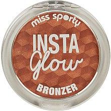 Parfums et Produits cosmétiques Poudre bronzante pour visage - Miss Sporty Insta Glow Bronzer