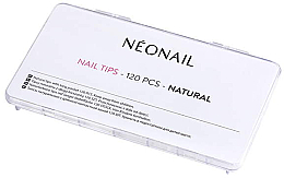 Parfums et Produits cosmétiques Capsules pour ongles, couleur naturelle, 120 pcs - NeoNail Professional Nail Tips Natural