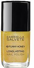 Parfums et Produits cosmétiques Vernis à ongles - Gabriella Salvete Longlasting Enamel Nail Polish
