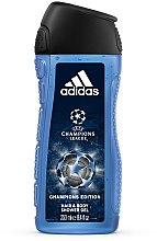 Parfums et Produits cosmétiques Gel douche parfumé - Adidas UEFA Champions League Champions Edition