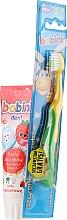 Parfums et Produits cosmétiques Kit dentaire pour enfant - Bobini 1-6 (brosse à dents + dentifrice/75ml)