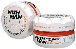 Parfums et Produits cosmétiques Cire coiffante - Nishman Hair Styling Wax 06 Mystic Gummy