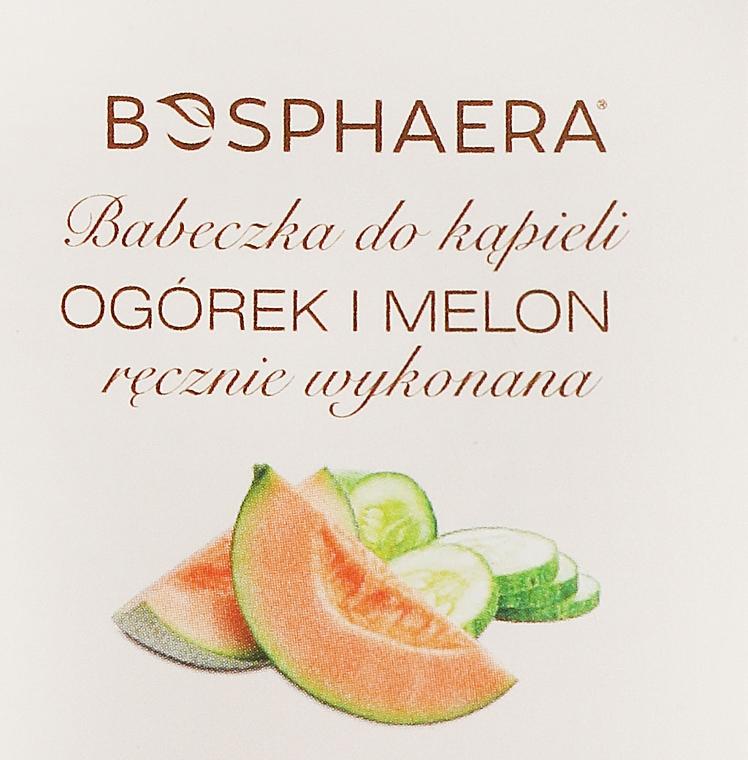 """Bombe de bain """"Concombre et melon"""" - Bosphaera"""