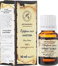 Parfums et Produits cosmétiques Huile essentielle de citron vert 100% naturelle - Aromatika